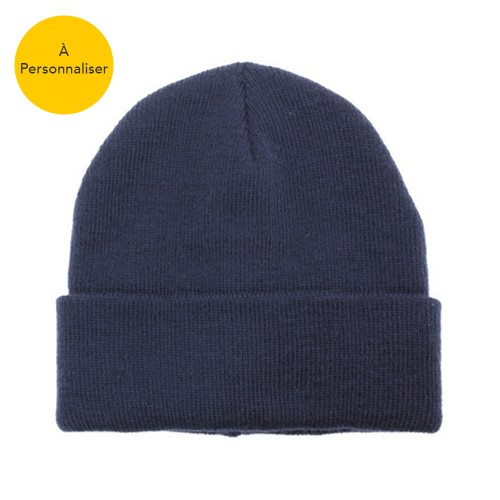 Personnalisable bonnet adulte uni