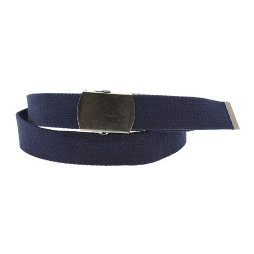 Sangle rigide unie homme marine